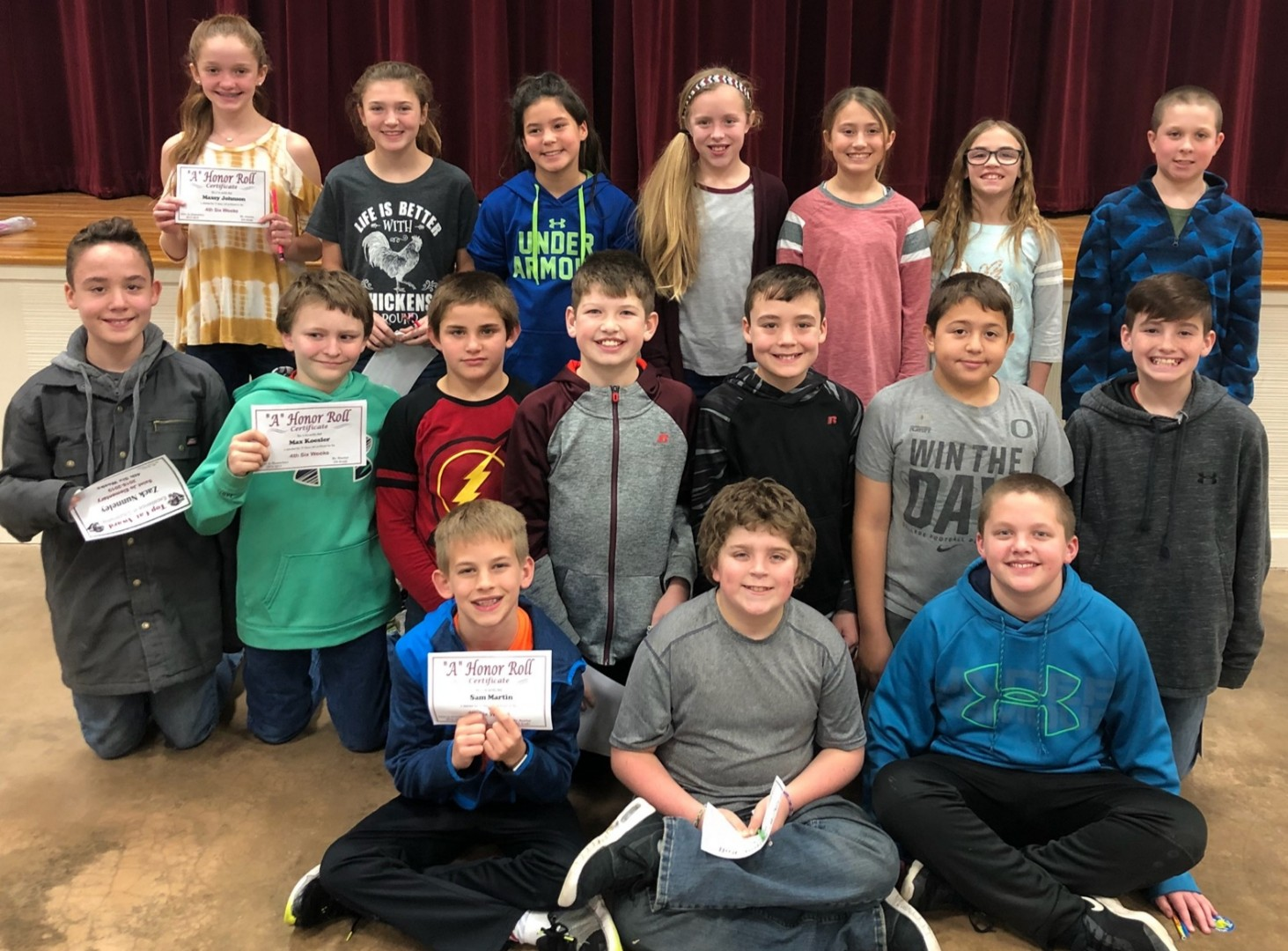 Saint Jo ISD - Elementary 4th Six Weeks Awards